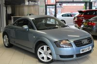 USED 2004 54 AUDI TT 1.8 T 3d 177 BHP FULL BLACK LEATHER SEATS + FULL SERVICE HISTORY + BLUETOOTH + TIMING BELT AND WATER PUMP DONE AT 79K + HEATED SEATS + AUX AND USB PORTS + AIR CONDITIONING