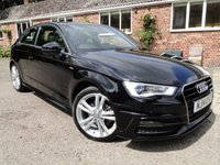 2014 AUDI A3 2.0 TDI S LINE S-TRONIC AUTO 3DR £SOLD