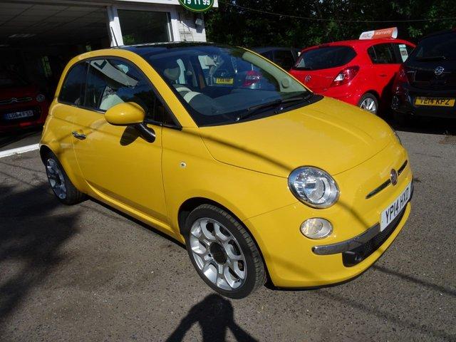 2014 14 FIAT 500 0.9 TWINAIR LOUNGE 3d 85 BHP