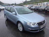 USED 2009 09 VOLKSWAGEN PASSAT ESTATE 2.0 HIGHLINE TDI 138 BHP Highline spec with leather, sunroof, heated seats, Bluetooth, Media ++ With FSH