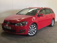 USED 2014 14 VOLKSWAGEN GOLF 2.0 GT TDI BLUEMOTION TECHNOLOGY 5d 148 BHP FACELIFT SAT NAV ONE OWNER FSH NO FINANCE REPAYMENTS FOR 2 MONTHS STC. £20 YR ROAD TAX. 67 MPG. FACELIFT MODEL. SATELLITE NAVIGATION. STUNNING RED WITH CONTRASTING GREY CLOTH SPORTS TRIM. CRUISE CONTROL. 17 INCH ALLOYS. COLOUR CODED TRIMS. PRIVACY GLASS. PARKING SENSORS. BLUETOOTH PREP. CLIMATE CONTROL. R/CD PLAYER. 6 SPEED MANUAL. MFSW. MOT 11/18. ONE OWNER FROM NEW. FULL DEALER SERVICE HISTORY. PRISTINE CONDITION. FCA FINANCE APPROVED DEALER. TEL 01937 849492.