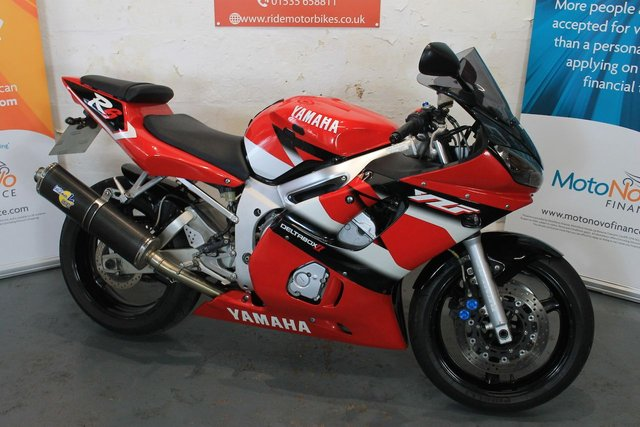 2002 02 YAMAHA YZF R6 599cc YZF R6