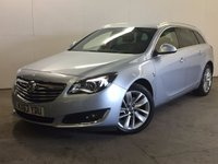USED 2014 63 VAUXHALL INSIGNIA 2.0 ELITE NAV CDTI 5d AUTO 160 BHP LEATHER COMFORT PACK FSH FACELIFT MODEL. SATELLITE NAVIGATION. STUNNING SILVER MET WITH FULL BLACK LEATHER TRIM COMFORT PACK. ELECTRIC MEMORY HEATED SEATS. CRUISE CONTROL. 18 INCH ALLOYS. COLOUR CODED TRIMS. PRIVACY GLASS. PARKING SENSORS. ELECTRIC TAILGATE. BLUETOOTH PREP. CLIMATE CONTROL. R/CD PLAYER. MFSW. MOT 01/18. ONE PREV OWNER. FULL SERVICE HISTORY. PRISTINE CONDITION. FCA FINANCE APPROVED DEALER. TEL 01937 849492.