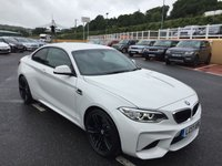 USED 2017 17 BMW M2 M2 3.0 Twin Turbo Coupe Manual 340bhp NEW with DELIVERY MILES save over £4,000, list £49,881 many options