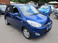 USED 2011 61 HYUNDAI I10 1.2 ACTIVE 5d AUTOMATIC LOW MILES GOOD SPEC