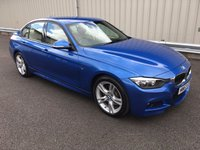 USED 2013 63 BMW 3 SERIES 2.0 325D M SPORT 4d 215 BHP SALOON BUSINESS MEDIA 1 OWNER, FULL BMW HISTORY, CREAM LEATHER