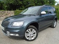 USED 2015 15 SKODA YETI 2.0 OUTDOOR SE L TDI SCR 5d 109 BHP ** 1 OWNER + 1 YEAR WARRANTY + CRUISE **