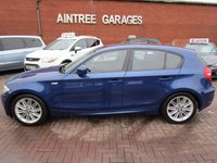 USED 2011 61 BMW 1 SERIES 2.0 118D M SPORT 5d 141 BHP 1 FORMER KEEPER HALF LEATHER
