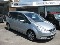 USED 2009 59 FORD GALAXY 1.8 GHIA TDCI 5d 125 BHP 7 seats Full service history Bluetooth Metallic paint Manual 6 Speed