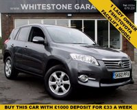 USED 2010 60 TOYOTA RAV4 2.2 XT-R D-4D 5d 150 BHP 1 LADY OWNER FULLY DOCUMENTED SERVICE HISTORY FROM TOYOTA