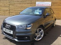 USED 2013 13 AUDI A1 1.4 TFSI S LINE 3d 1 OWNER