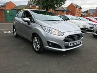 USED 2013 62 FORD FIESTA 1.6 ZETEC 5d AUTO 104 BHP EXCELLENT FUEL ECONOMY!..LOW CO2 EMISSIONS(138G/KM)..FULL FORD HISTORY...ONLY 8175 MILES FROM NEW!!..PARKING SENSORS, CLIMATE CONTROL, AND ALLOY WHEELS