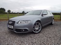 USED 2011 11 AUDI A6 2.0 AVANT TDI S LINE SPECIAL EDITION 5d 168 BHP ONLY 2 OWNERS FROM NEW + FULL SERVICE HISTORY