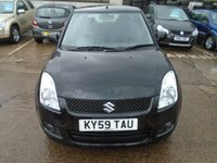 USED 2009 59 SUZUKI SWIFT 1.5 GLX 3d 100 BHP