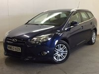 USED 2014 63 FORD FOCUS 1.6 TITANIUM TDCI 115 5d 114 BHP FACELIFT ONE OWNER FSH £20 YEAR ROAD TAX. 67 MPG. FACELIFT MODEL. STUNNING INK BLUE WITH CONTRASTING BLACK/GREY CLOTH TRIM. CRUISE CONTROL. 16 INCH ALLOYS. COLOUR CODED TRIMS. BLUETOOTH PREP. CLIMATE CONTROL. R/CD PLAYER. 6 SPEED MANUAL. MFSW. MOT 07/18. ONE OWNER FROM NEW. FULL SERVICE HISTORY. PRISTINE CONDITION. FCA FINANCE APPROVED DEALER. TEL 01937 849492.