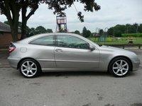 2005 MERCEDES-BENZ C CLASS 1.8 C230 KOMPRESSOR SE SPORTS 3d AUTO 190 BHP £4295.00