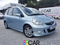 USED 2008 08 HONDA JAZZ 1.3 DSI SPORT 5d AUTO 82 BHP 1 PREVIOUS OWNER