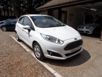USED 2014 14 FORD FIESTA 1.6 ZETEC ECONETIC TDCI 5d 94 BHP FULL FORD SERVICE HISTORY, ZERO ROAD TAX, 1 OWNER