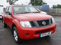 USED 2014 14 NISSAN NAVARA 2.5 DCI VISIA 4X4 144 BHP DOUBLE CAB PICK UP TRUCK, DRIVE AWAY TODAY, GORGEOUS CONDITION