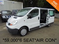 USED 2007 07 RENAULT TRAFIC 6 SEAT CREW VAN 2.0 DCI 115 BHP 6 SPEED*59K*AIR CON*