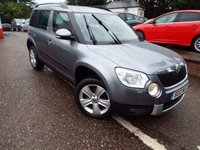 USED 2012 12 SKODA YETI 2.0 SE PLUS TDI CR 5d 109 BHP One Owner Full Service History With Factory SAT NAV
