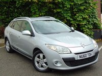 USED 2010 60 RENAULT MEGANE 1.5 DYNAMIQUE TOMTOM DCI 5d  STYLISH ECONOMICAL FAMILY ESTATE*128 POINT AA INSPECTED*