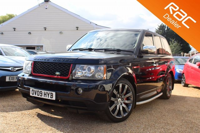 View our 2009 09 LAND ROVER RANGE ROVER SPORT 2.7 TDV6 SPORT HSE 5d AUTO 188 BHP