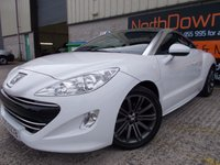 USED 2011 PEUGEOT RCZ 1.6 THP SPORT 2d 156 BHP Excellent Condition, No Fee Finance Available, No Deposit Necessary