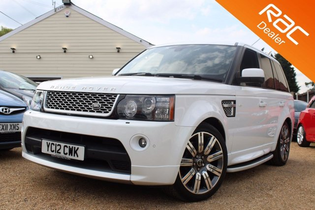 View our 2012 12 LAND ROVER RANGE ROVER SPORT 3.0 SDV6 AUTOBIOGRAPHY SPORT 5d AUTO 255 BHP