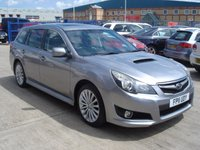 USED 2011 11 SUBARU LEGACY 2.0 D SE 5d 150 BHP MOT SERVICE WARRANTY FINANCE