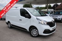 USED 2015 15 RENAULT TRAFIC 1.6 SL27 BUSINESS PLUS DCI S/R P/V 1d 115 BHP Only 12,000 Miles, One Owner, Roof Bars.