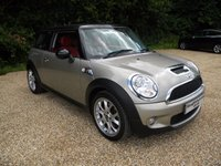 USED 2006 56 MINI HATCH COOPER 1.6 COOPER S 3d 172 BHP Full Leather Seats. Alloy Wheels