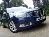 2011 VAUXHALL INSIGNIA 2.0 SRI CDTI 5d AUTO 157 BHP £7499.00