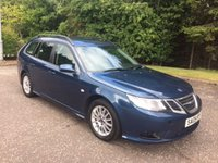USED 2009 09 SAAB 9-3 1.9 LINEAR SE TID 5d Estate 150 BHP 6 MONTHS PARTS+ LABOUR WARRANTY+AA COVER