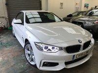 2015 BMW 4 SERIES 2.0 425D M SPORT 2d AUTO 215 BHP £26995.00