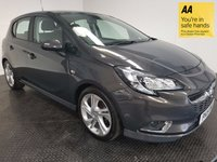 USED 2015 15 VAUXHALL CORSA 1.4 SRI VX-LINE 5d 89 BHP FSH-1 OWNER-BLUETOOTH-ALLOYS-A/C