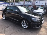 USED 2011 61 AUDI A1 1.4 TFSI S LINE 3d 122 BHP 0% AVAILABLE ON THIS CAR PLEASE CALL 01204 317705