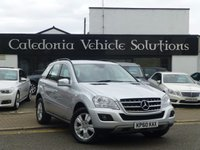 USED 2010 60 MERCEDES-BENZ M CLASS 3.0 ML350 CDI BLUEEFFICIENCY SE 5d AUTO 231 BHP ONE FORMER KEEPER with 12 MONTHS MOT & 6 MERCEDES SERVICES