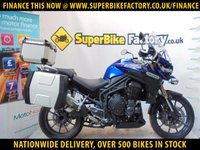 USED 2012 62 TRIUMPH EXPLORER 1215 GOOD & BAD CREDIT ACCEPTED, OVER 500+ BIKES