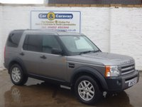 USED 2007 07 LAND ROVER DISCOVERY 2.7 3 COMMERCIAL XS MWB 1d 188 BHP SERVICE HISTORY ALLOYS TOW BAR COMMERCIAL 2 SEATS