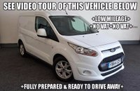 USED 2014 64 FORD TRANSIT CONNECT 1.6 TDCi L1 200 Limited Panel Van 5dr +LOW MILEAGE+NO VAT+