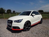USED 2011 61 AUDI A1 1.4 TFSI COMPETITION LINE 3d 122 BHP FULL SERVICE HISTORY + SATELLITE NAVIGATION