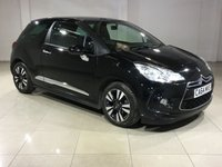 USED 2015 64 CITROEN DS3 1.6 E-HDI DSTYLE 3d 90 BHP 1 OWNER / 0 ROAD TAX