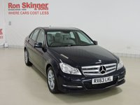 USED 2013 63 MERCEDES-BENZ C-CLASS 2.1 C220 CDI BLUEEFFICIENCY EXECUTIVE SE 4d AUTO 168 BHP