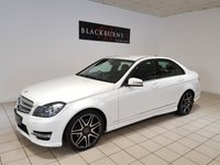 USED 2012 12 MERCEDES-BENZ C CLASS 2.1 C220 CDI BLUEEFFICIENCY AMG SPORT PLUS 4d AUTO 168 BHP