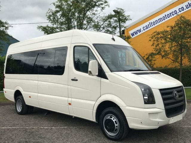 2009 58 VOLKSWAGEN CRAFTER CR50 LWB TDI AUTO MINIBUS-WAV Wheelchair Lift Low Mileage Delivery T.B.A
