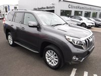 USED 2015 65 TOYOTA LAND CRUISER 2.8 D-4D ICON 5d AUTO 175 BHP