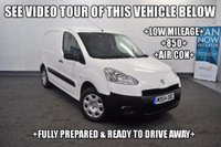 USED 2015 64 PEUGEOT PARTNER 1.6 HDi Professional L1 850 4dr +LOW MILEAGE+850+AIR CON+