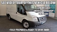 USED 2012 61 FORD TRANSIT 2.2 TDCi 300 S Panel Van 5dr (SWB) +LOW MILEAGE+WORKSHOP+AIR CON+