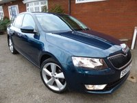 USED 2014 63 SKODA OCTAVIA 2.0 ELEGANCE TDI CR 5d 148 BHP With Factory Optional Extras Excellent Condition, Skoda Service History